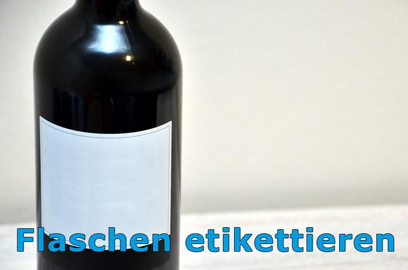 flaschen etikettierer