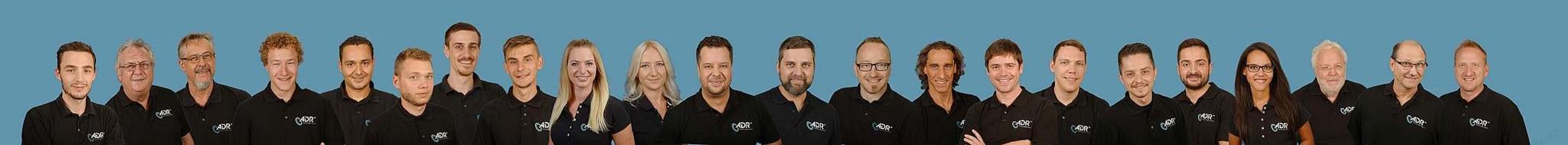 Mitarbeiter am Standort Deutschland Entwicklung und Produktion